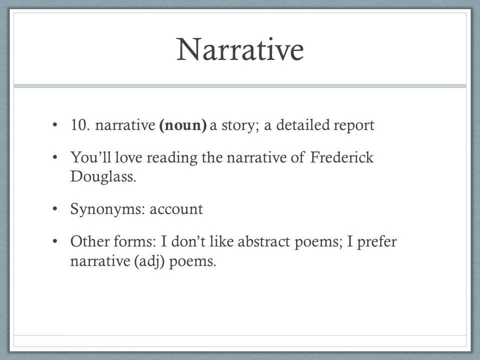 Narrative 10.
