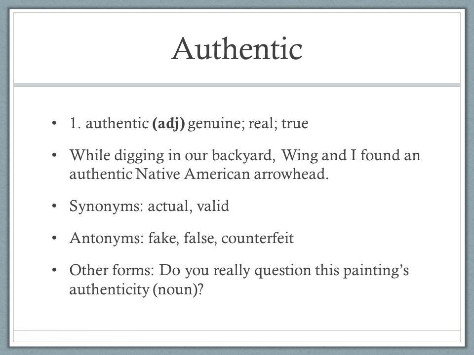 Authentic 1.