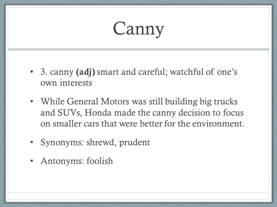 Canny 3.