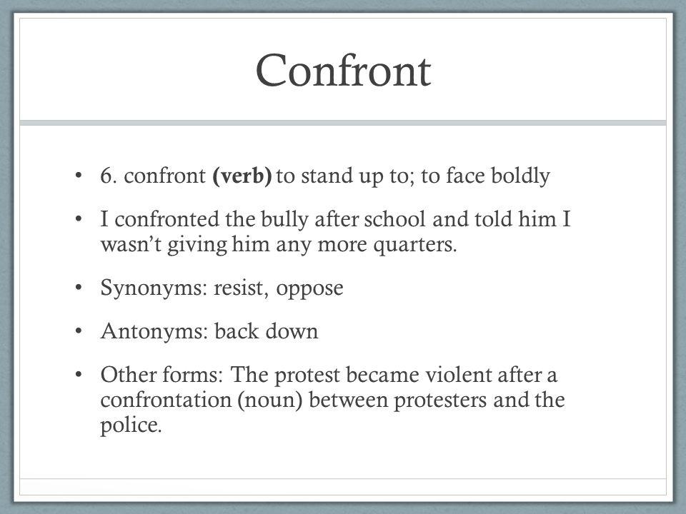 Confront 6.