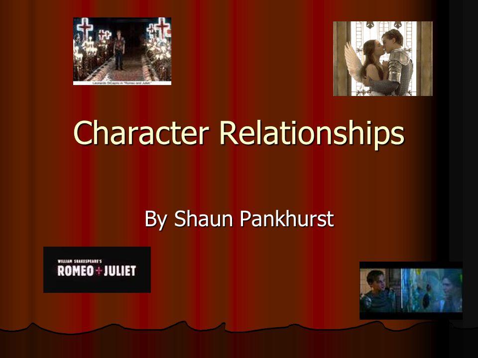Character Relationships By Shaun Pankhurst