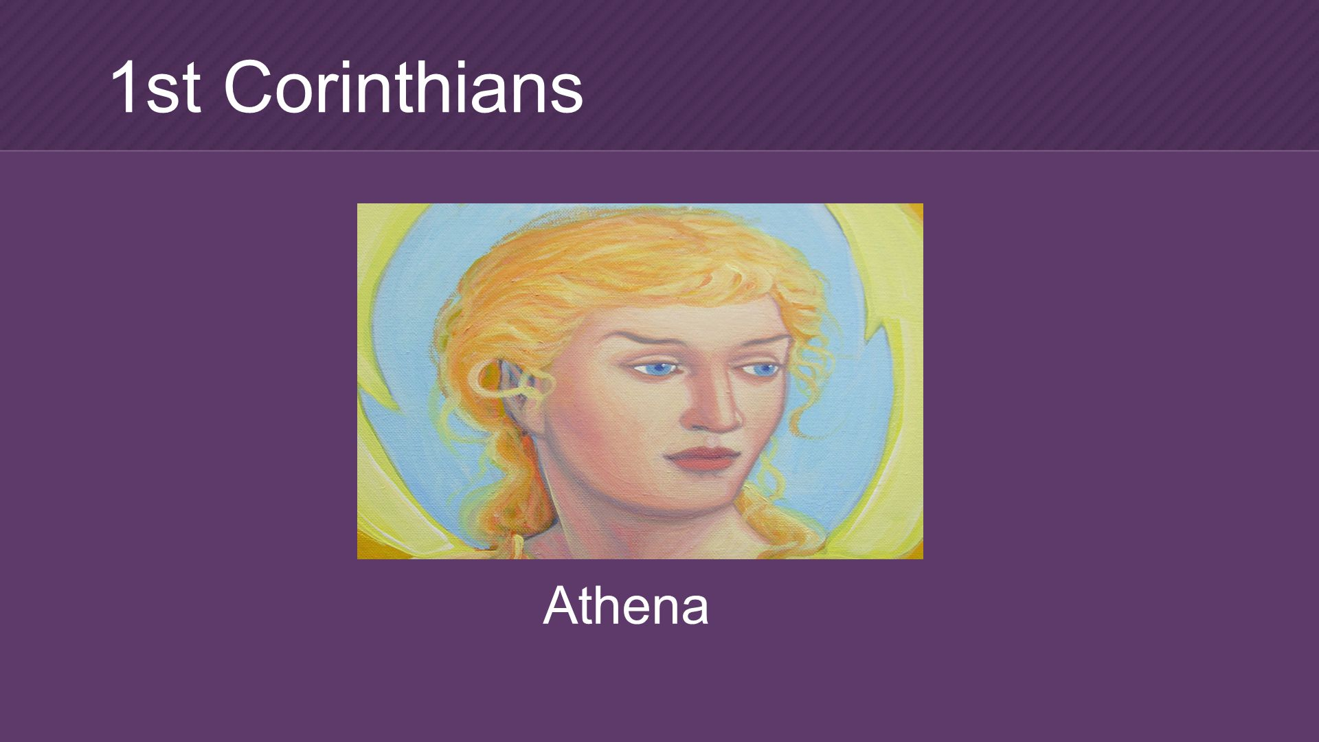 Athena 1st Corinthians