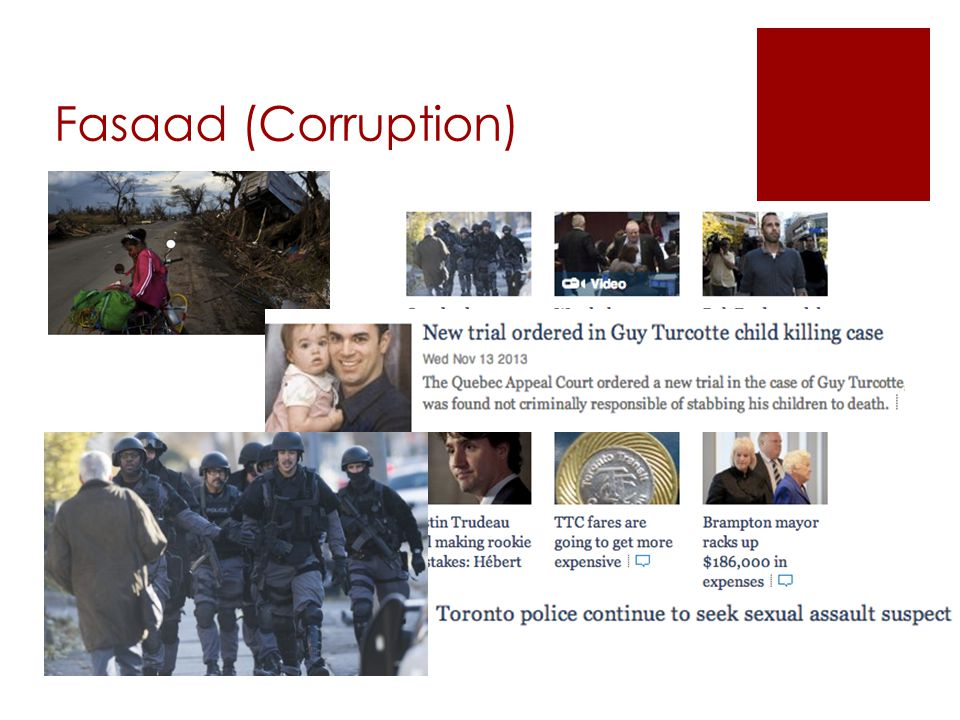 Fasaad (Corruption)