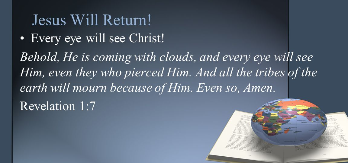 The dead shall be raised…. The dead will be raised at Christ's coming.