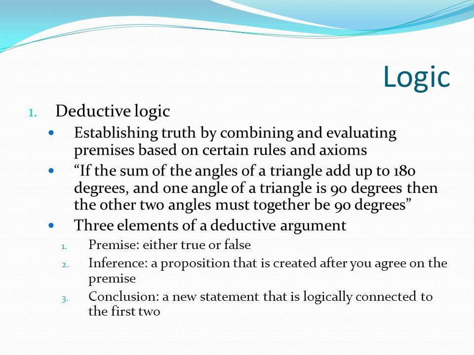 Logic 1.
