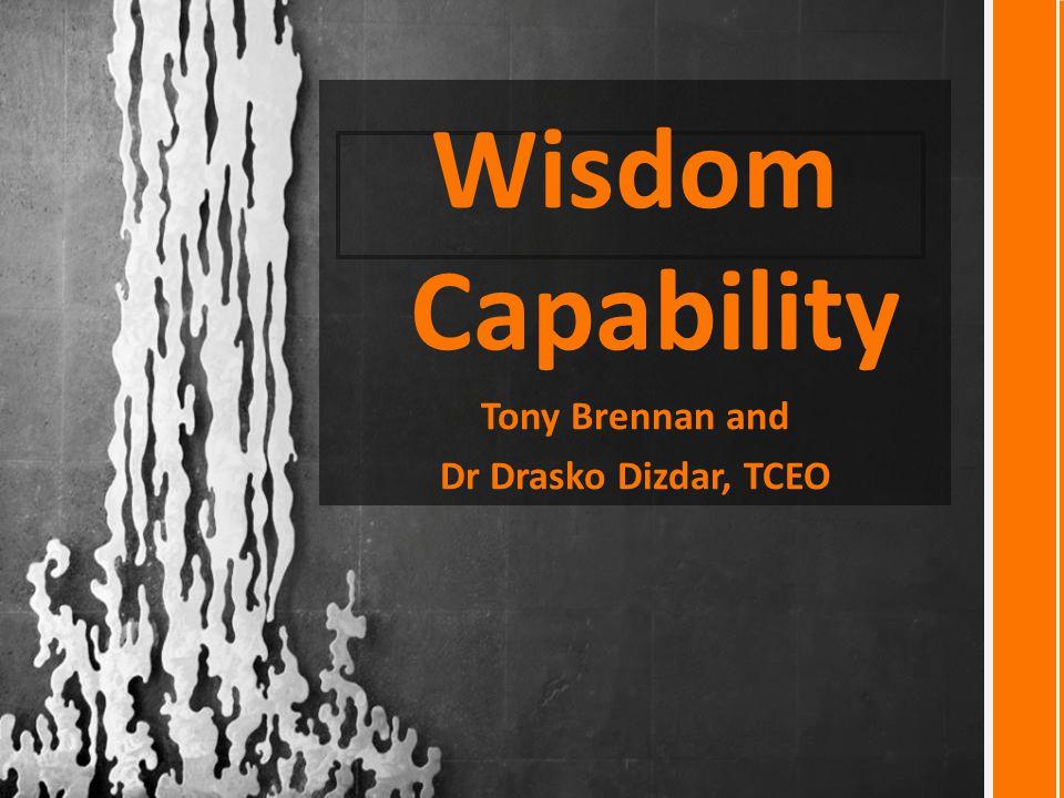Wisdom Capability Tony Brennan and Dr Drasko Dizdar, TCEO