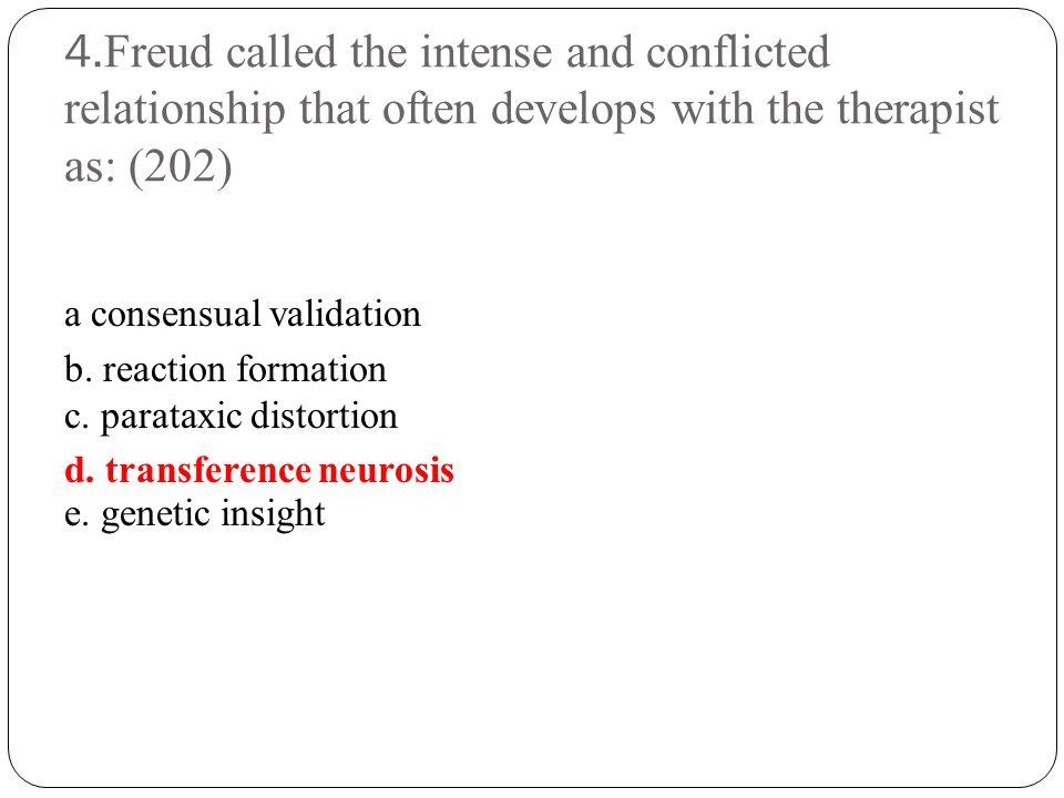 5.Yalom said that therapist's behavior may sometimes see pedantic.
