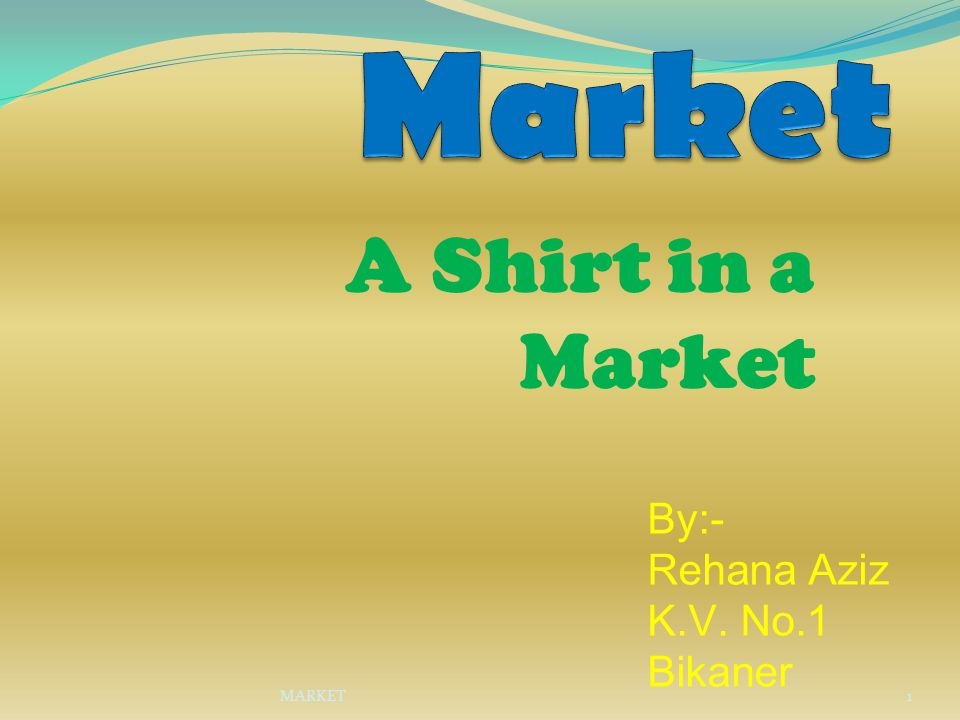 A Shirt in a Market In this part we will discuss that what are the various steps involved in the manufacturing of the shirt in the market till the delivery of the final product to the customers.