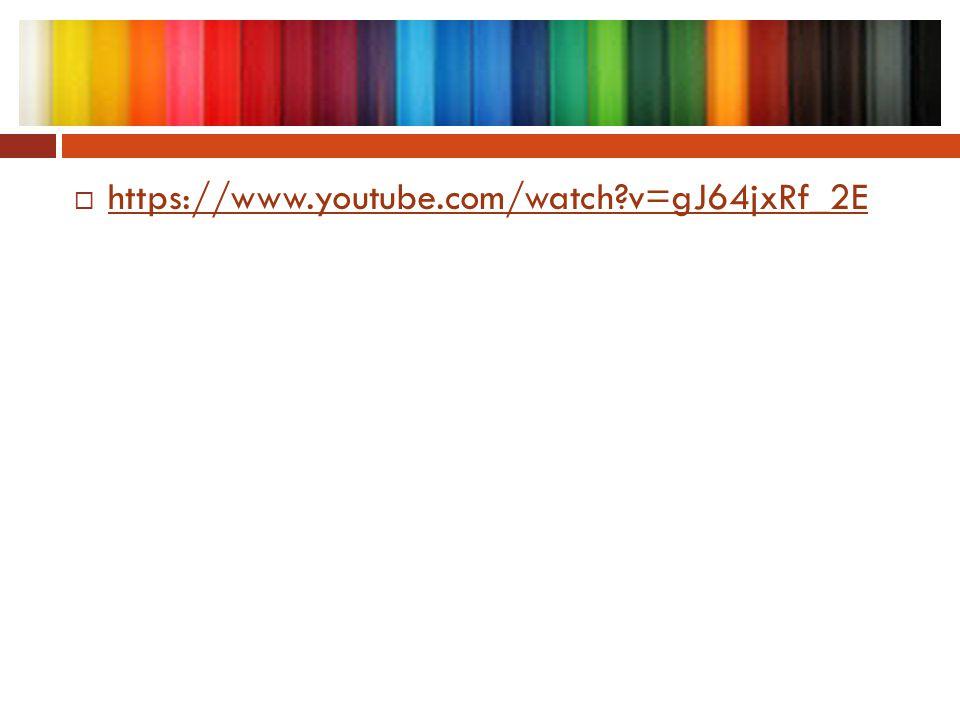  https://www.youtube.com/watch?v=gJ64jxRf_2E https://www.youtube.com/watch?v=gJ64jxRf_2E