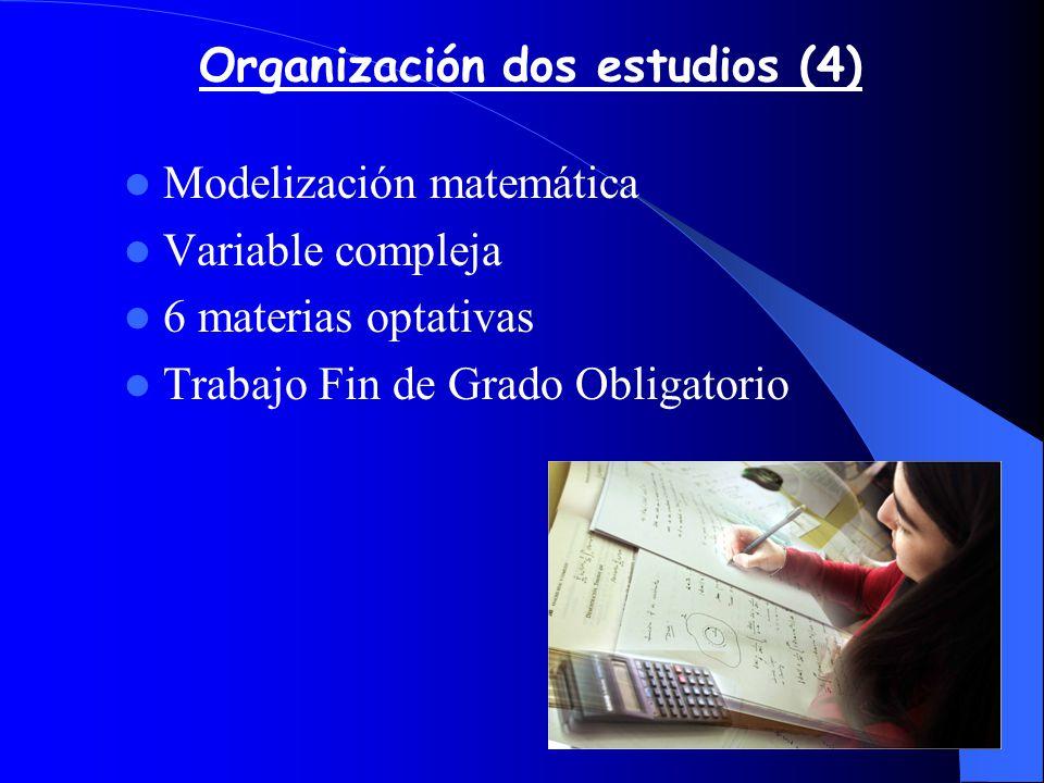 Organización dos estudios (4) .