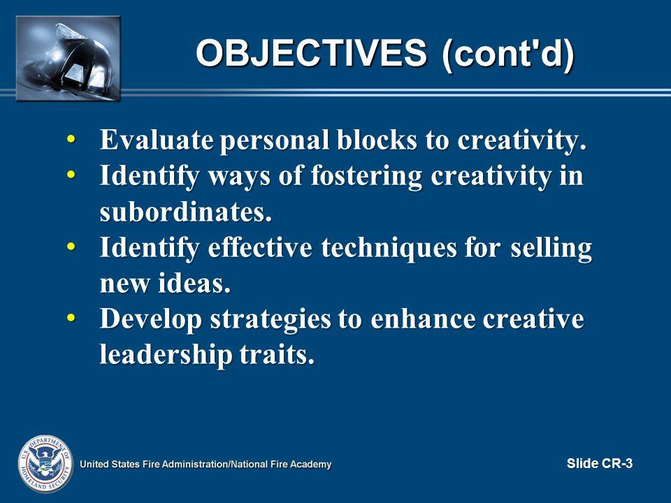 OVERVIEW Icebreakers Icebreakers What is Creativity.