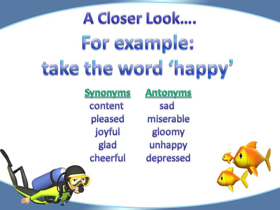 Let's take a closer look…. Let's take a closer look….