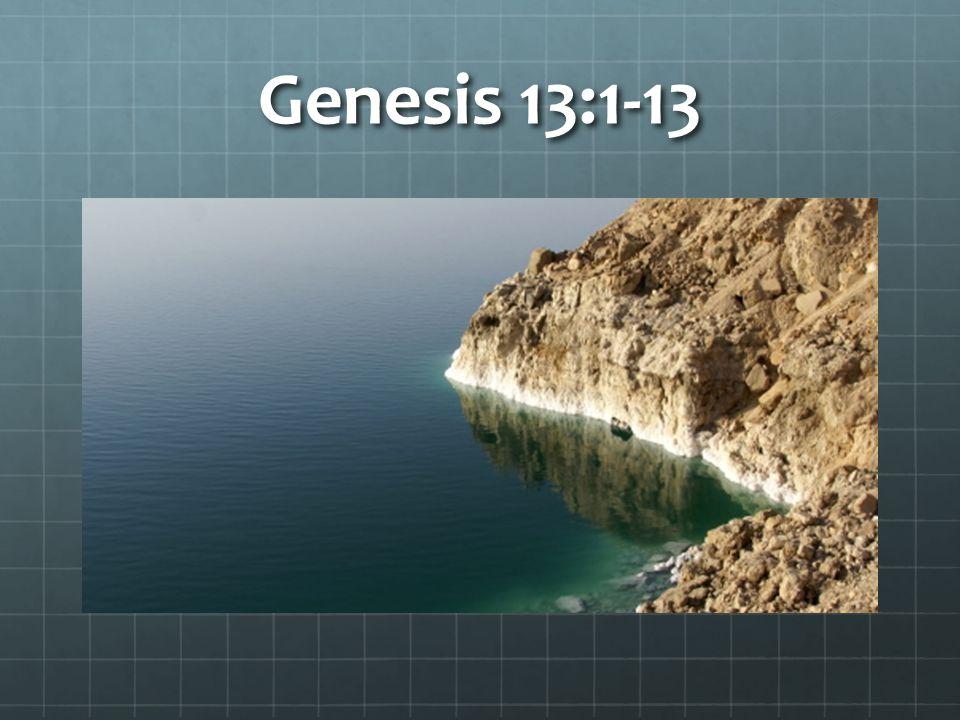 Genesis 13:1-13