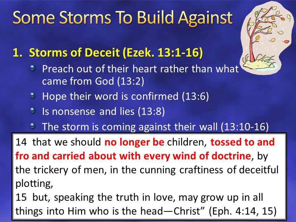 1.Storms of Deceit (Ezek.