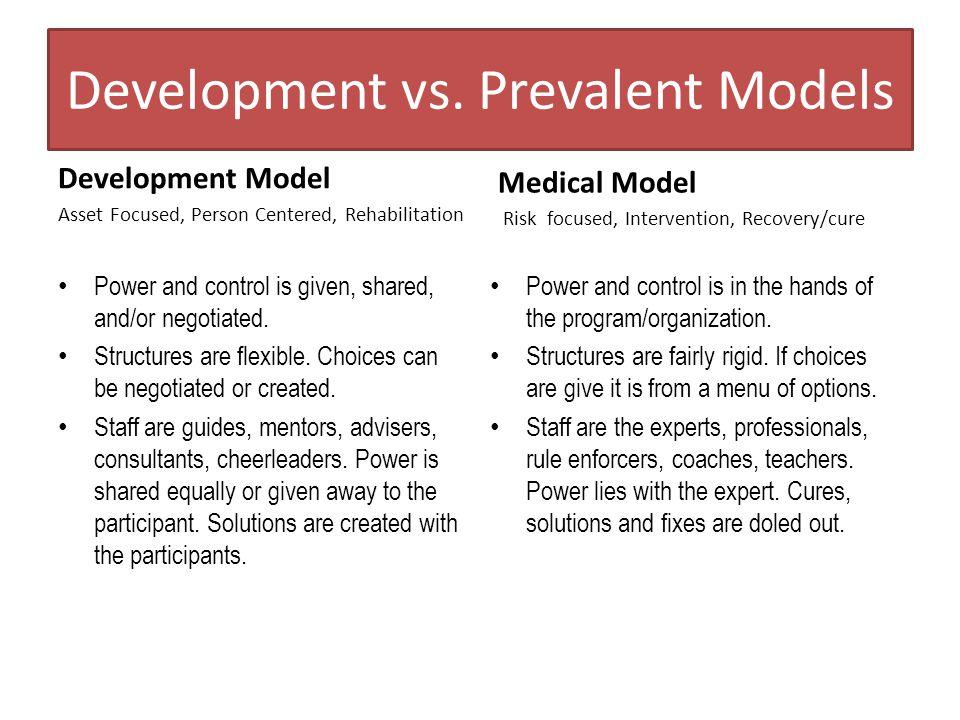 Development vs.