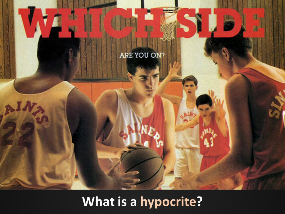What is a hypocrite?