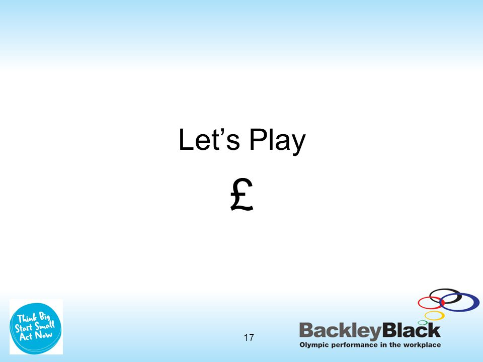 Let's Play £ 17