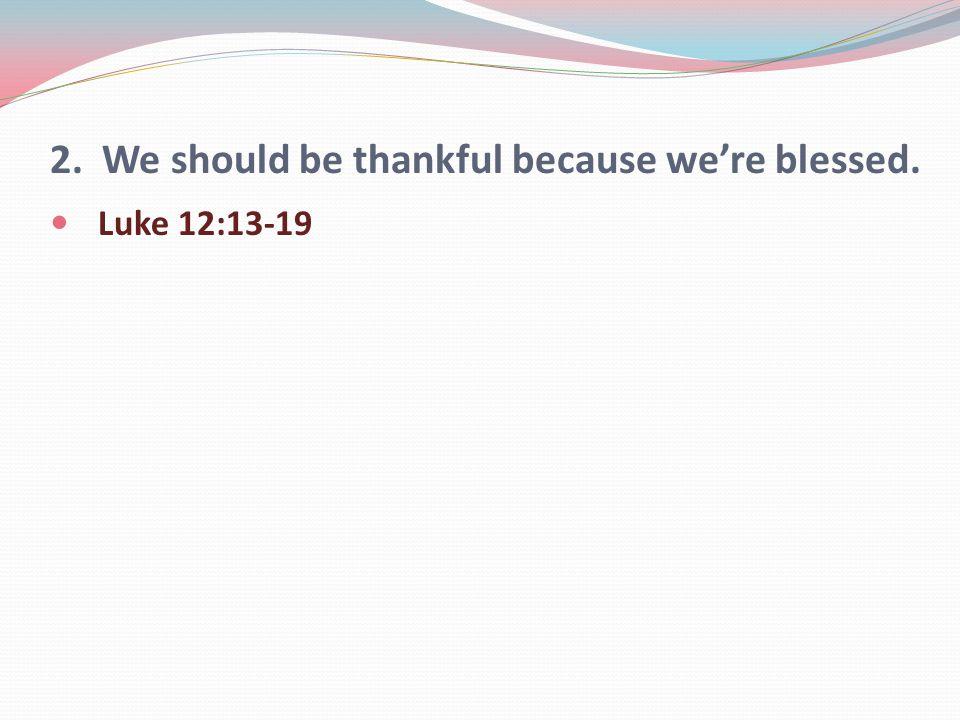Luke 12:13-19