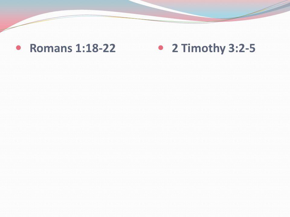 2 Timothy 3:2-5