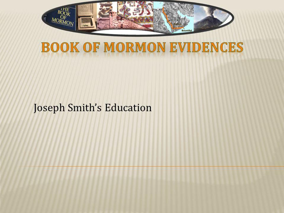 Joseph Smith's Education