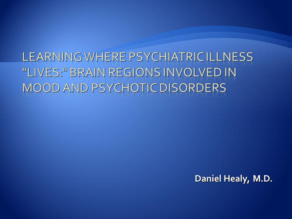 Daniel Healy, M.D.
