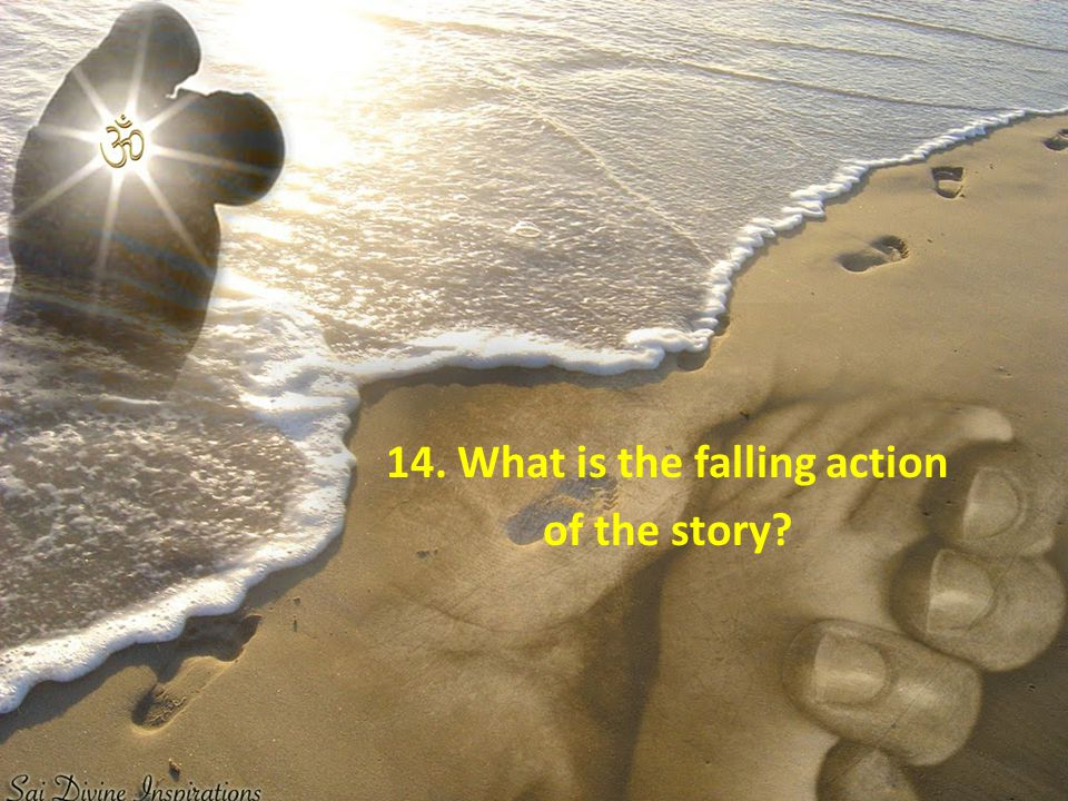 14. What is the falling action of the story?