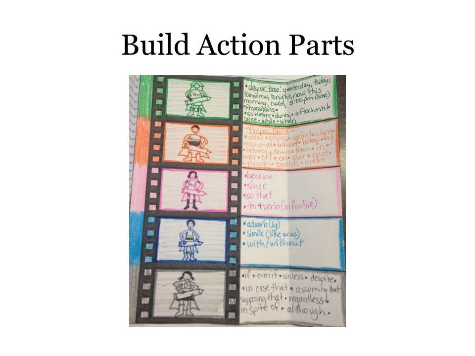 Build Action Parts