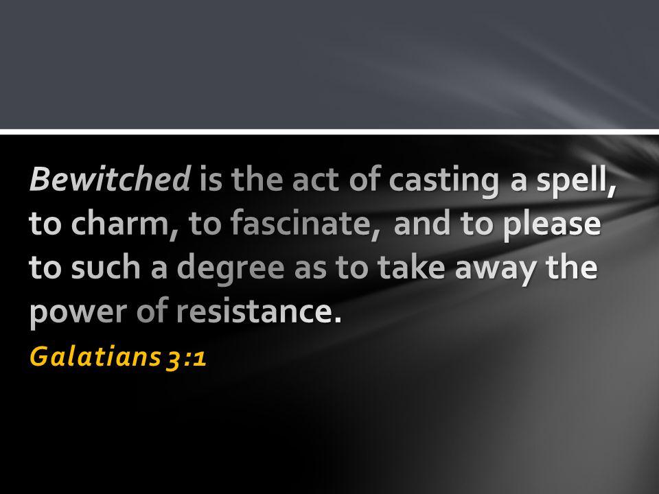 Galatians 3:1