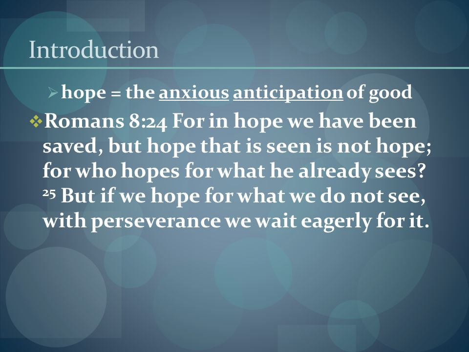  Hope: The Wonderful Counselor is the only wise God our Savior .