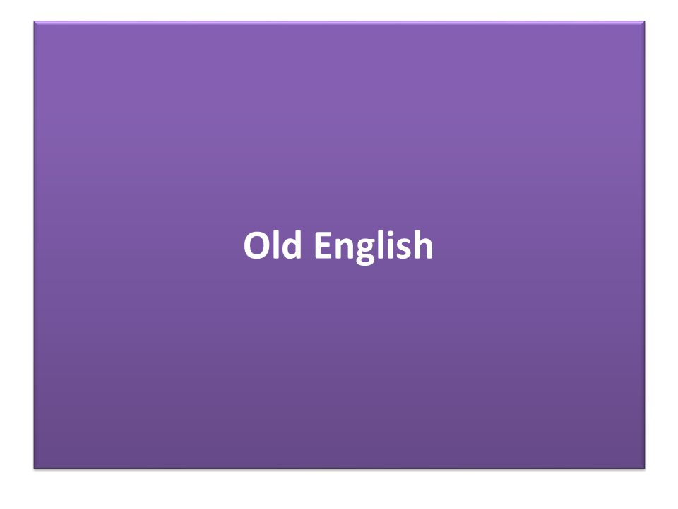 English is a Germanic language The reconstructed proto-language from where Germanic derives is Indo-European It is difficult to locate and date the origin of Germanic languages exactly  lack of relevant documentation