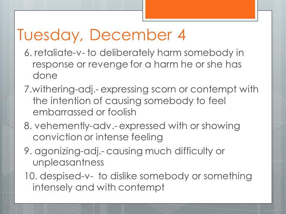 Tuesday, Dec.4 Pre-AP 9.