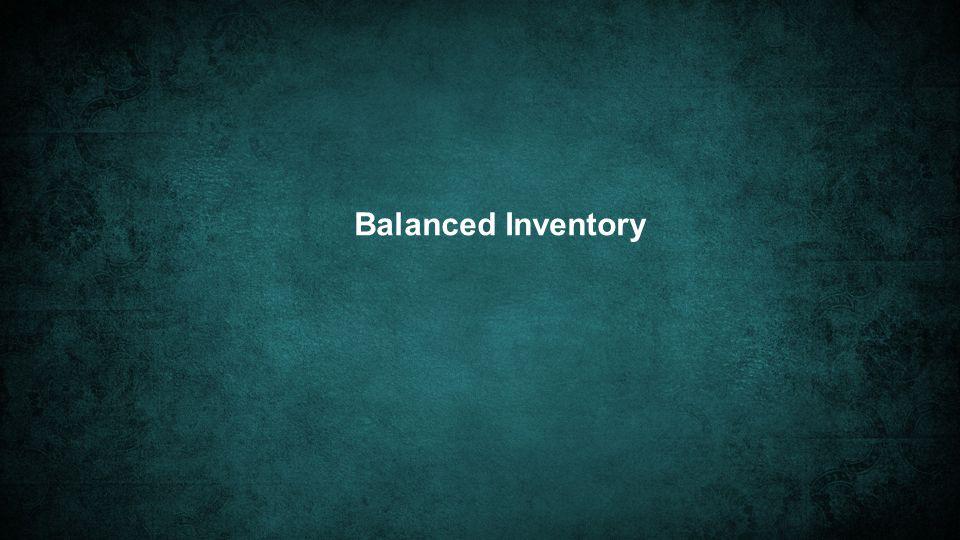 Balanced Inventory