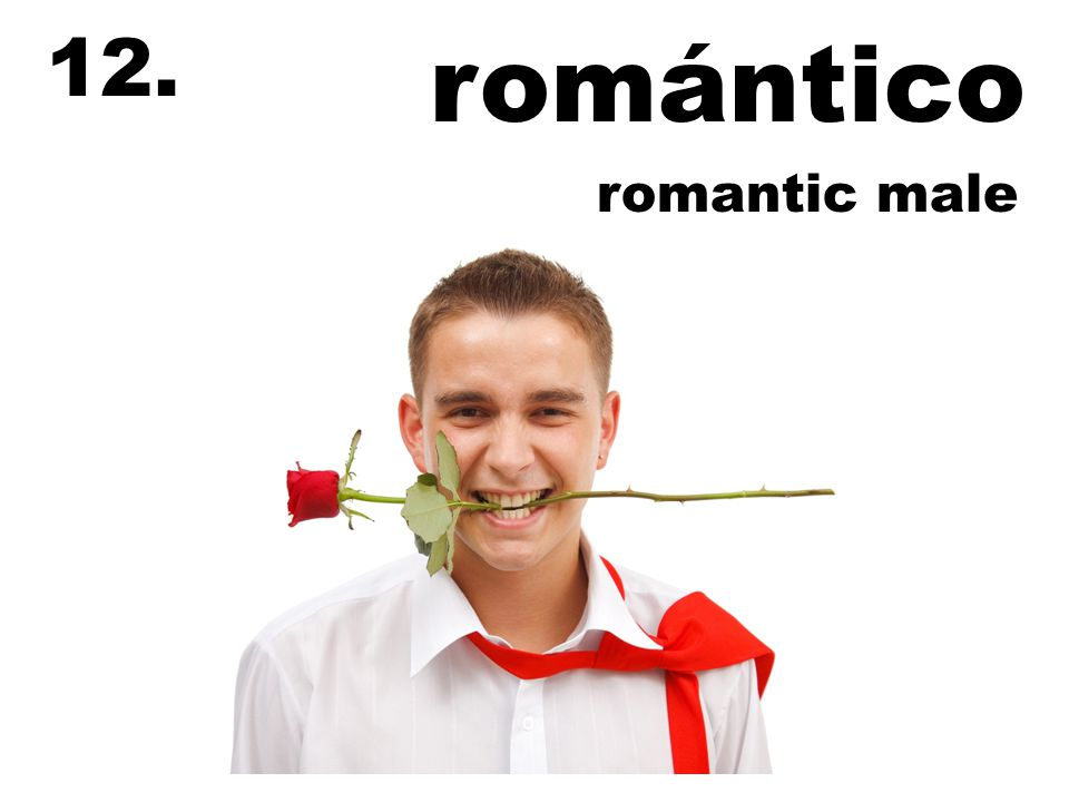 romántico 12. romantic male