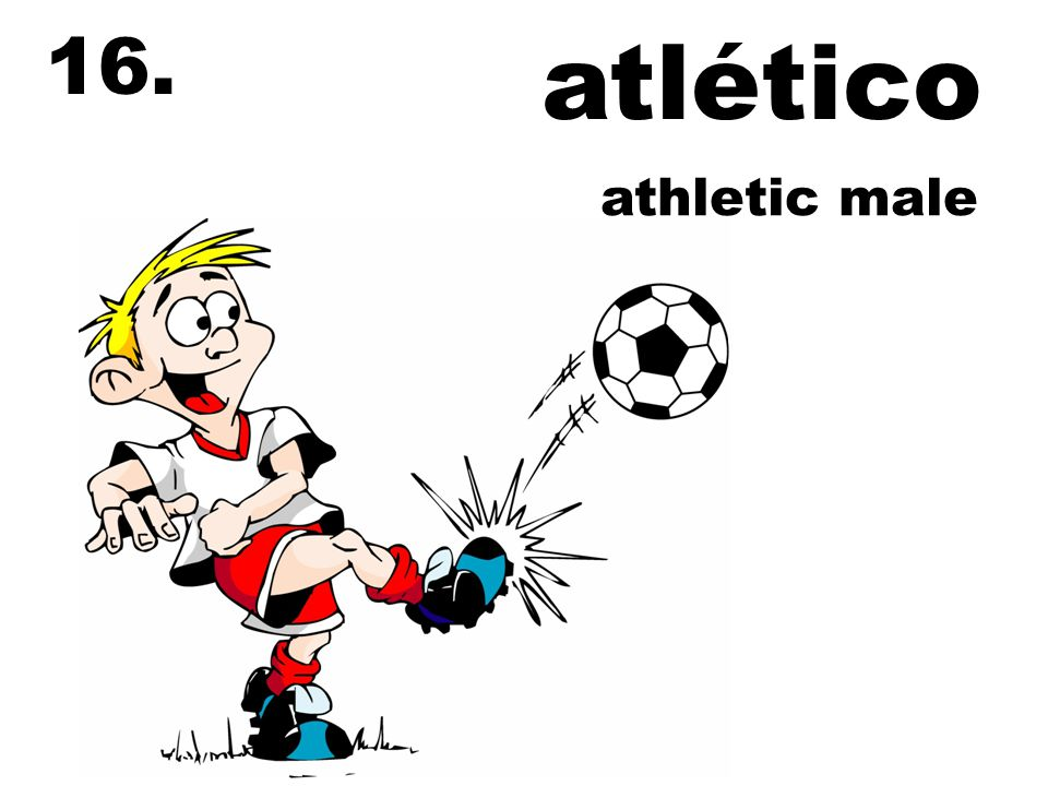 atlético 16. athletic male