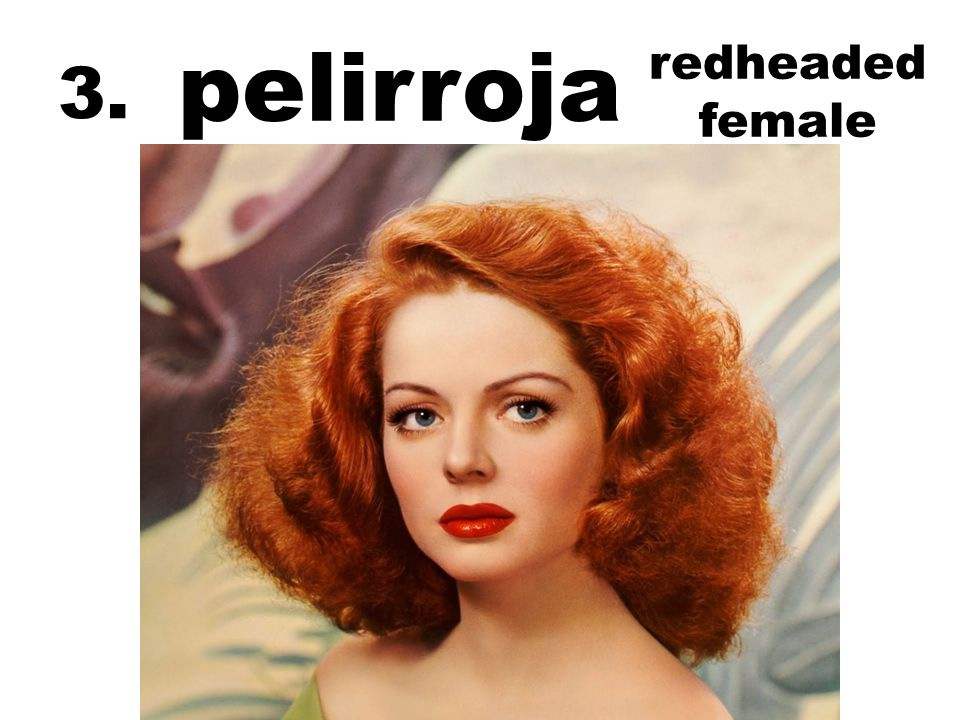 pelirroja redheaded female 3.