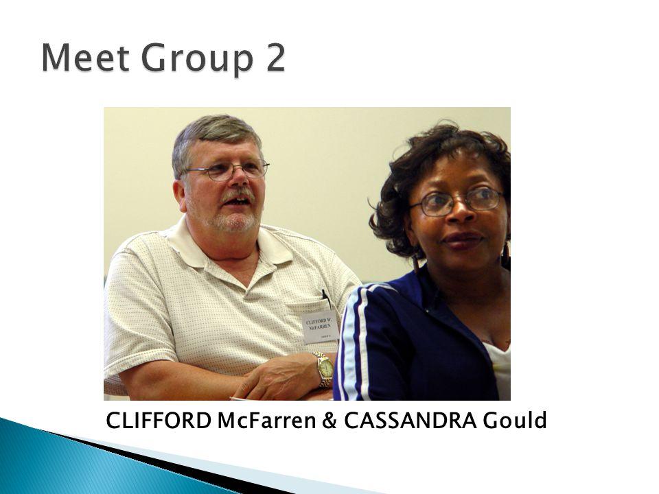 CLIFFORD McFarren & CASSANDRA Gould