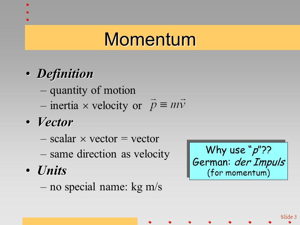 Slide 2 Any motion. M V M V Oh, dear.
