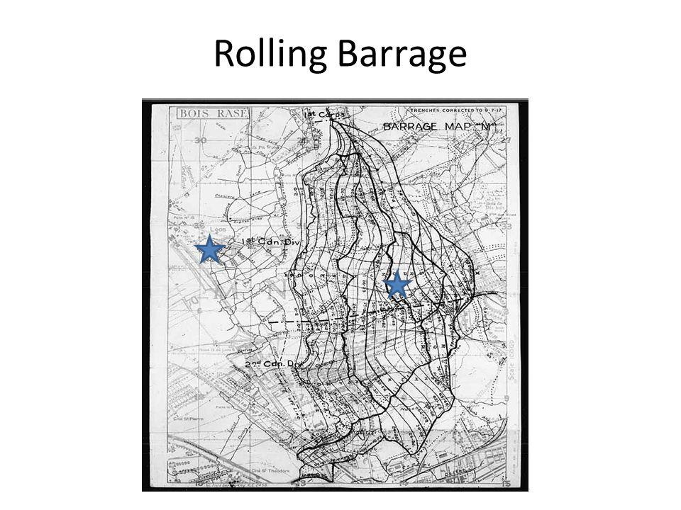 Rolling Barrage