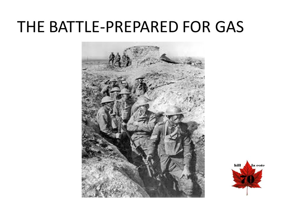 THE BATTLE-PREPARED FOR GAS