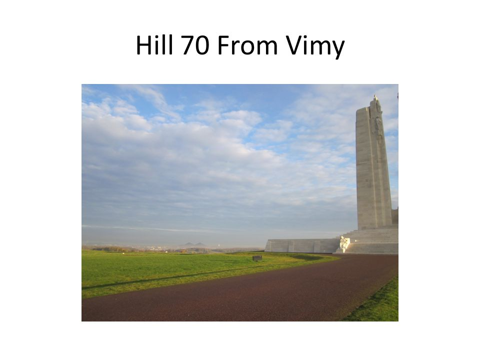 Vimy From Hill 70