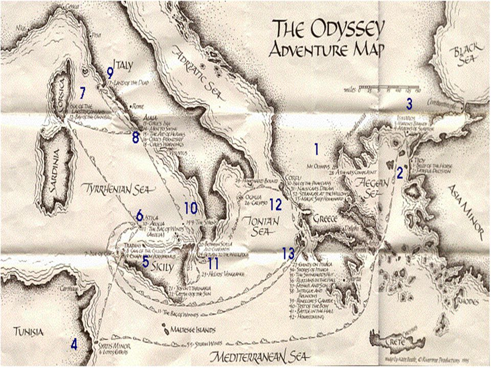914-922 Questions 1.What does Odysseus do to call the souls of the dead to him.