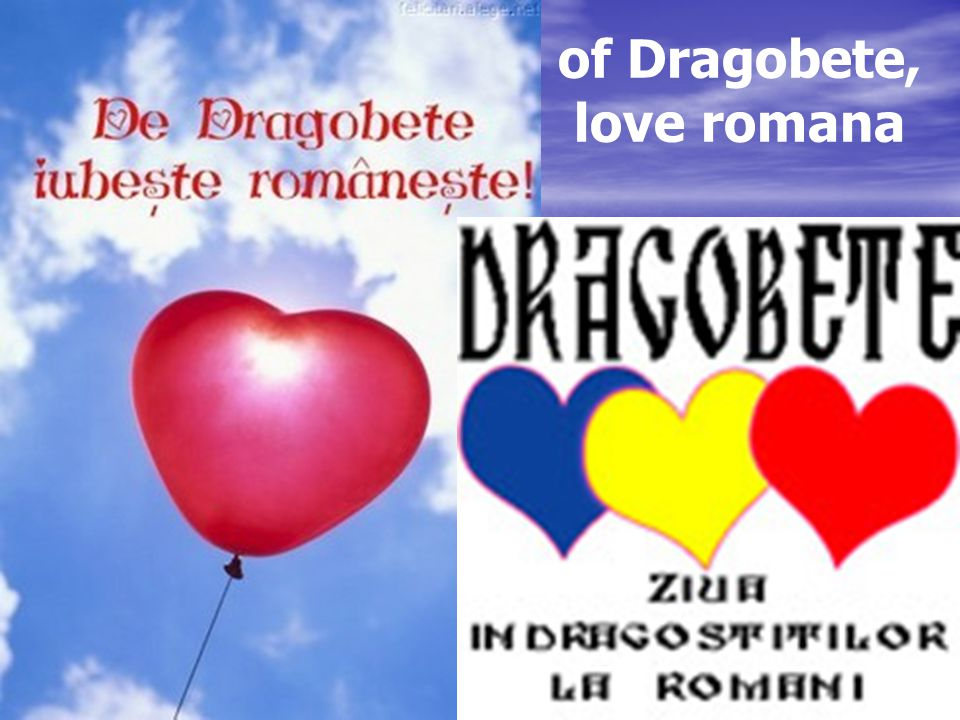 of Dragobete, love romana