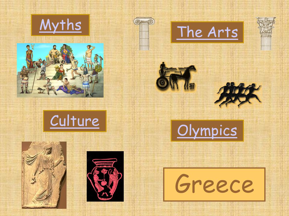 Greece The Arts Myths Culture Olympics