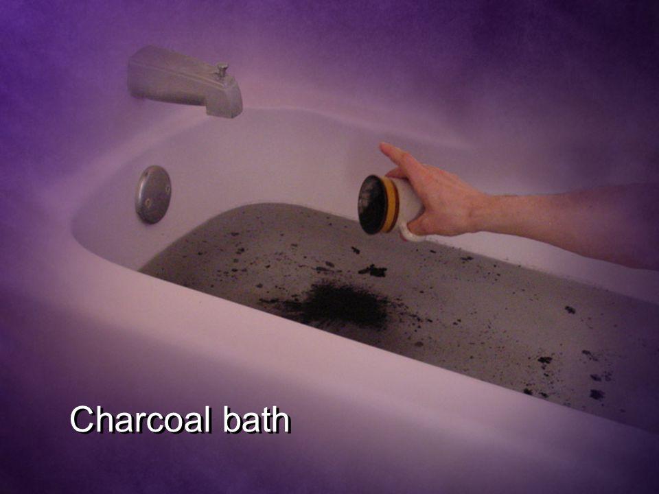 Charcoal bath