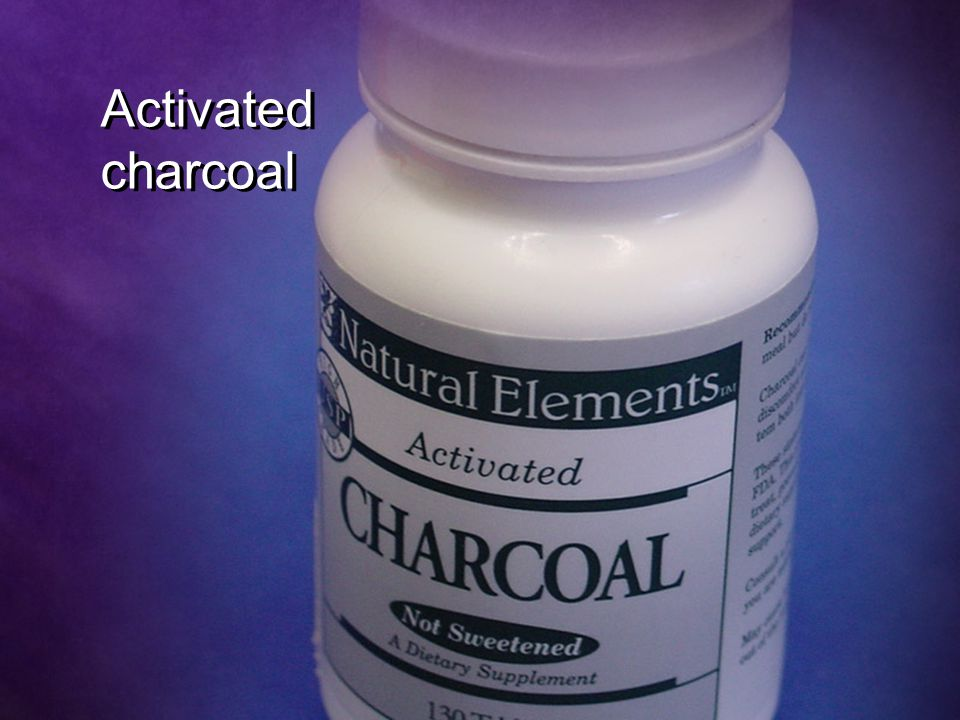 Activated charcoal Activated charcoal