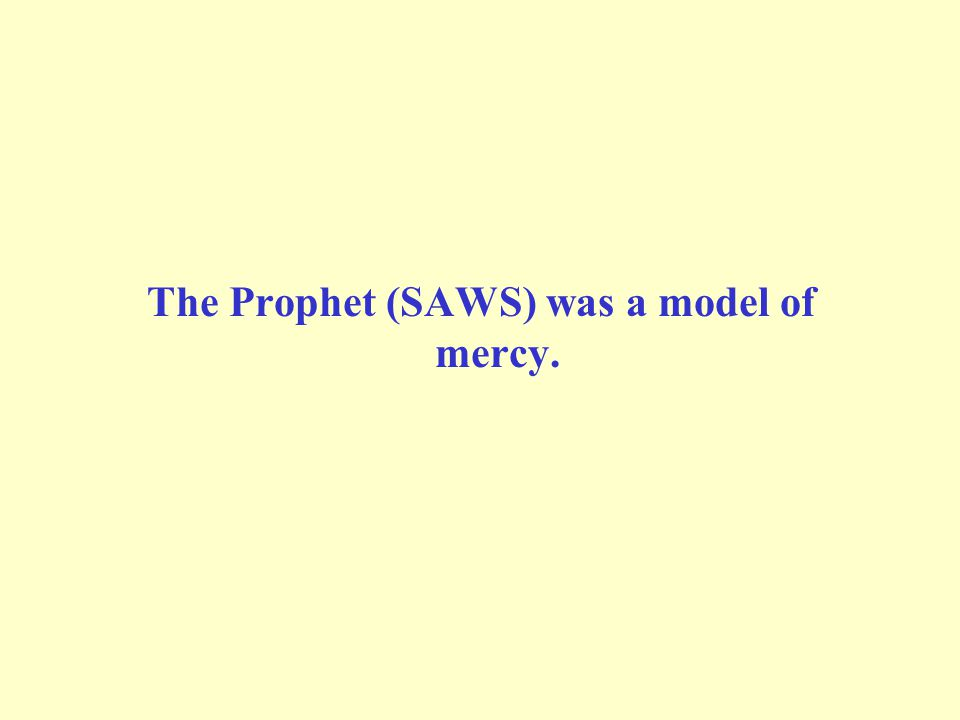 Allah s Messenger (SAWS) said: A man was walking on his way when he became awfully thirsty.