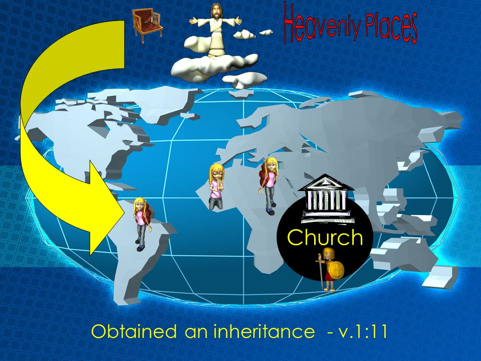 Obtained an inheritance - v.1:11 Church