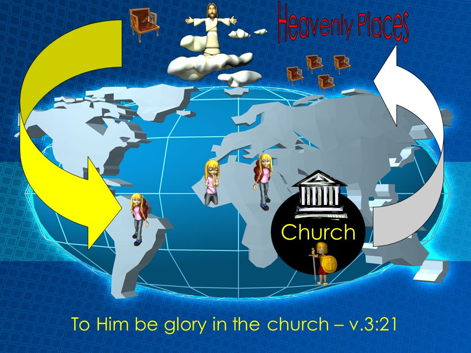 To Him be glory in the church – v.3:21 Church