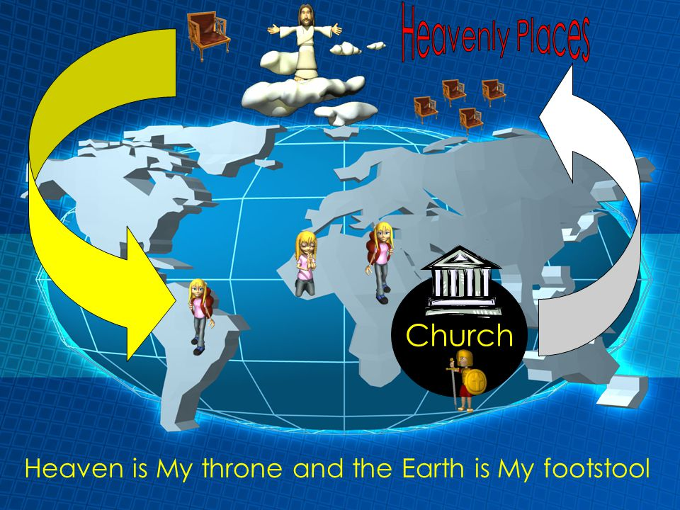 Heaven is My throne and the Earth is My footstool Church