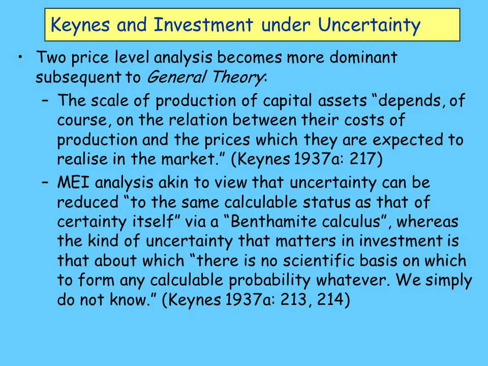 What is uncertainty .